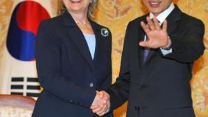 """Clinton: """"Inakzeptable Provokation"""" Pjöngjangs"""