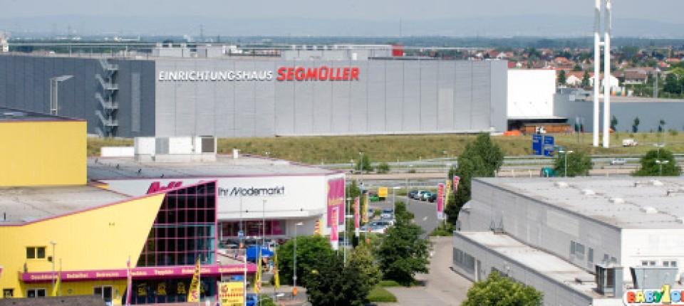 Weiterstadt Konglomerat Von Großflächigen Fachmärkten Region Und