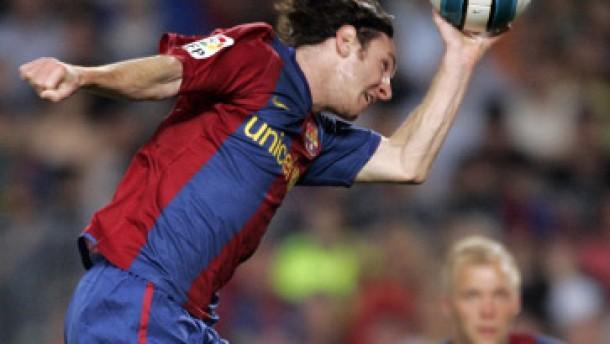 """""""Hand Messi(a)s"""" reicht nicht zum Sieg"""