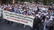 Tausende Griechen demonstrieren gegen Sparkurs