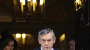Brown kündigt Rückzug vom Labour-Vorsitz an
