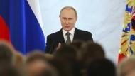 Für Putin ist die Krim so heilig wie der Tempelberg
