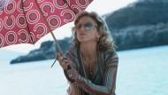 Würden Sie so einen Schirm auf eine einsame Insel mitnehmen?