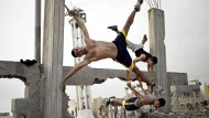 "Street Workout"" am Strand von Gaza"