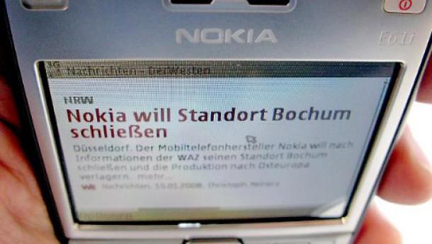 Nokia schließt Werk in Bochum