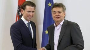 ÖVP und Grüne einigen sich auf Regierungsbündnis