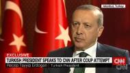 Erdogan beschreibt die Nacht des Putschversuches