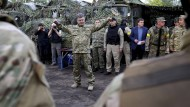 Ukrainischer Präsident fordert sofortigen Waffenstillstand