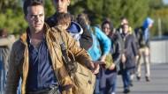 Rekordzahl an Flüchtlingen im September