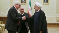 Steinmeier lädt Irans Präsidenten nach Deutschland ein