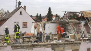 Zwei Verletzte bei Gasexplosion in Frankfurt