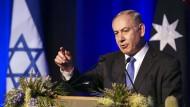 Benjamin Netanjahu zu Besuch in Australien