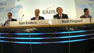 Teilrückzug der Großaktionäre bei EADS