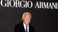 Giorgio Armani feiert 40. Modejubiläum