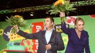 Peter und Özdemir als Vorsitzende bestätigt