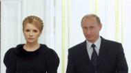 Haben eine Einigung erzielt: Julia Timoschenko und  Wladimir Putin
