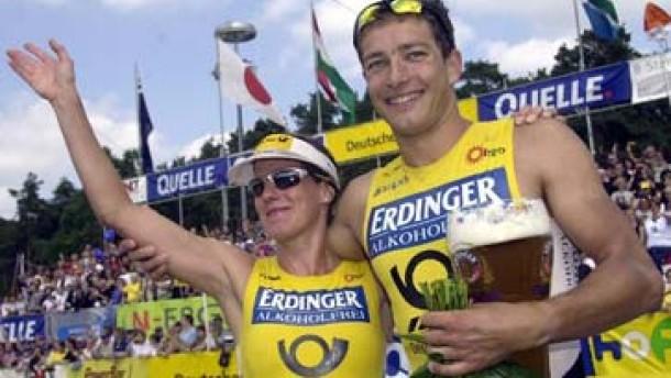 Ironman-Elite in Frankfurt am Start