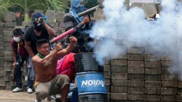 Gewalttätige Ausschreitungen in Nicaragua