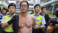Polizei in Hongkong nimmt Demonstranten fest