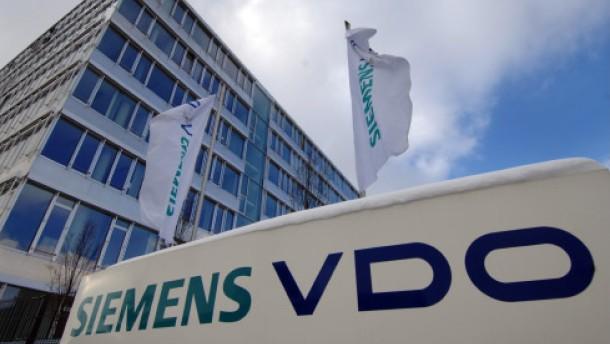 Große Nervosität bei Siemens VDO
