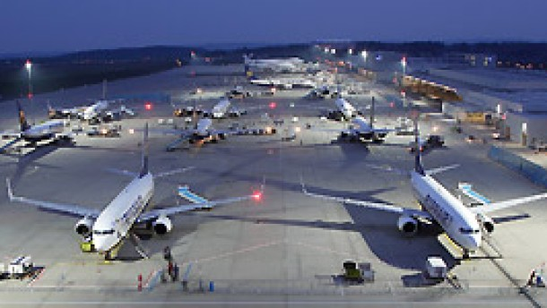 Regionalflughäfen hängen an Ryanair