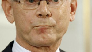 Herman Van Rompuy und Catherine Ashton bilden EU-Spitze