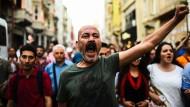 Demonstration zum Jahrestag der Gezi-Proteste