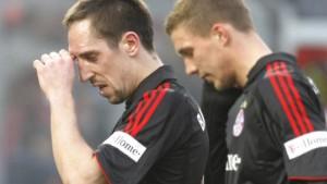 Die Bayern blamieren sich beim Schlusslicht