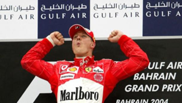 Auch in der Wüste gilt die Vorfahrt für Ferrari