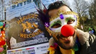 Integration mit Clownsnase