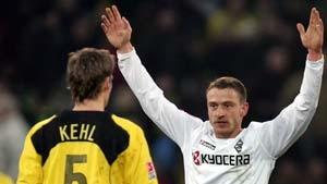 Dortmund und Gladbach sind mit wenig zufrieden