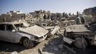 Neue Luftangriffe auf Sanaa