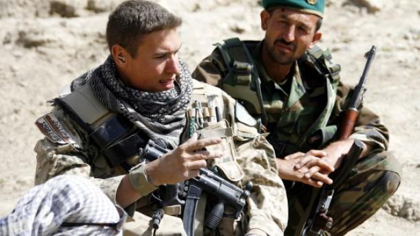 Auf Patrouille mit Afghanen in Faizabad: Immer Verlass?