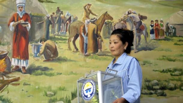Vor den Wahlen in Kirgistan