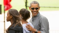 Obama schlendert durch den Central Park