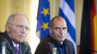 """Schäuble nennt griechische Beschwerde über ihn Unsinn"""""""