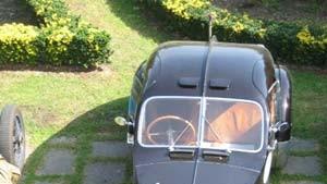 Die Liebe zu einem Bugatti stirbt nie