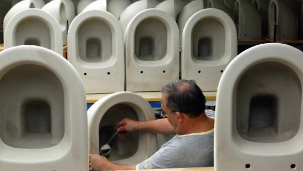 Hohe Strafe für Badezimmer-Kartell