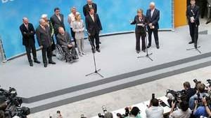 Merkel: Wir sind eine starke Truppe