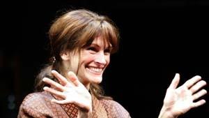 Vorhang auf für Laternenpfahl Julia Roberts