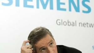 Siemens muß Zahlen korrigieren