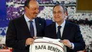 Rafa Benítez als neuer Trainer bei Real Madrid vorgestellt