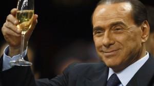 Berlusconi und der Schlamm