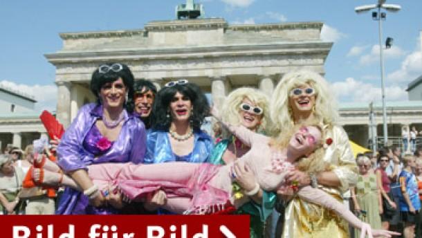 Leitbild gay - wie fröhlich