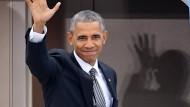 Obama sagt ein letztes Mal Auf Wiedersehen
