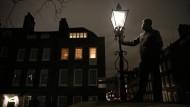 Londons Laternenanzünder bewahren ein Stück Geschichte
