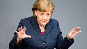 Auch Deutschlands Kräfte sind nicht unbegrenzt