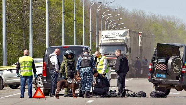 Bürgermeister von Charkiw niedergeschossen