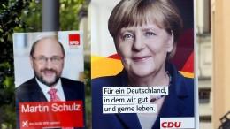 CDU setzt im Schlussspurt voll auf Merkel