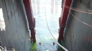 Fließbandarbeit in der Ostsee